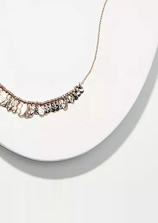 LOFT Metallic Charm Necklace