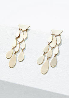 LOFT Metallic Drop Earrings