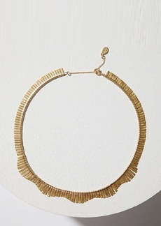 LOFT Metallic Fringe Necklace