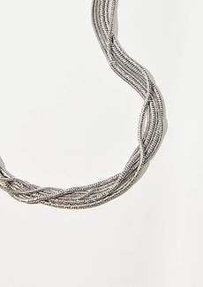 LOFT Metallic Rope Necklace