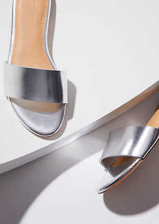 LOFT Metallic Slide Sandals