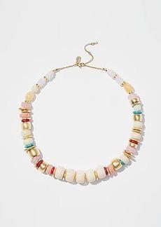 LOFT Mixed Bead Statement Necklace