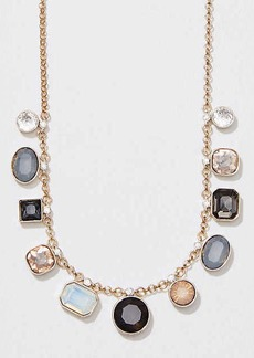 LOFT Mixed Gem Necklace