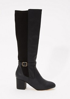 LOFT Mixed Media Knee Boots