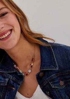 LOFT Mixed Stone Necklace