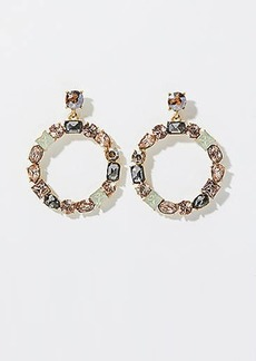 LOFT Mixed Stone Ring Earrings