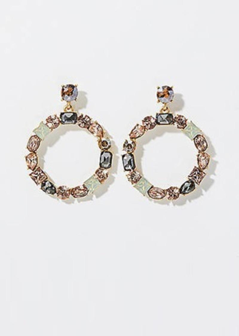 LOFT Mixed Stone Ring Earrings