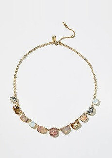 LOFT Mixed Stone Statement Necklace