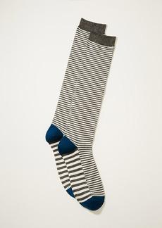 LOFT Mixed Stripe Boot Socks