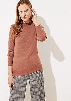 LOFT Mock Neck Sweater