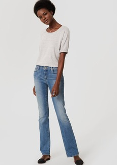 Modern Boot Cut Jeans in Authentic Light Indigo Wash