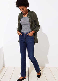 LOFT Modern Bootcut Jeans in Dark Classic Indigo Wash