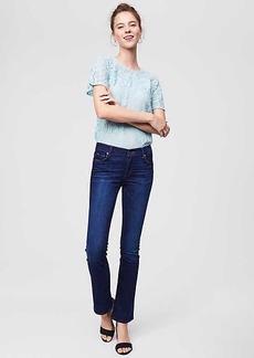 LOFT Modern Bootcut Jeans in Dark Indigo Wash