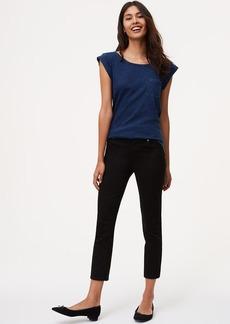 Modern Kick Crop Jeans in Black