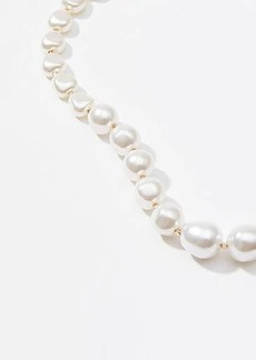 LOFT Modern Pearlized Necklace
