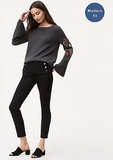 Modern Sailor Skinny Jeans in Black