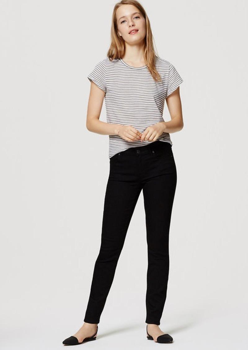 Loft Modern Skinny Jeans In Black Denim Shop It To Me