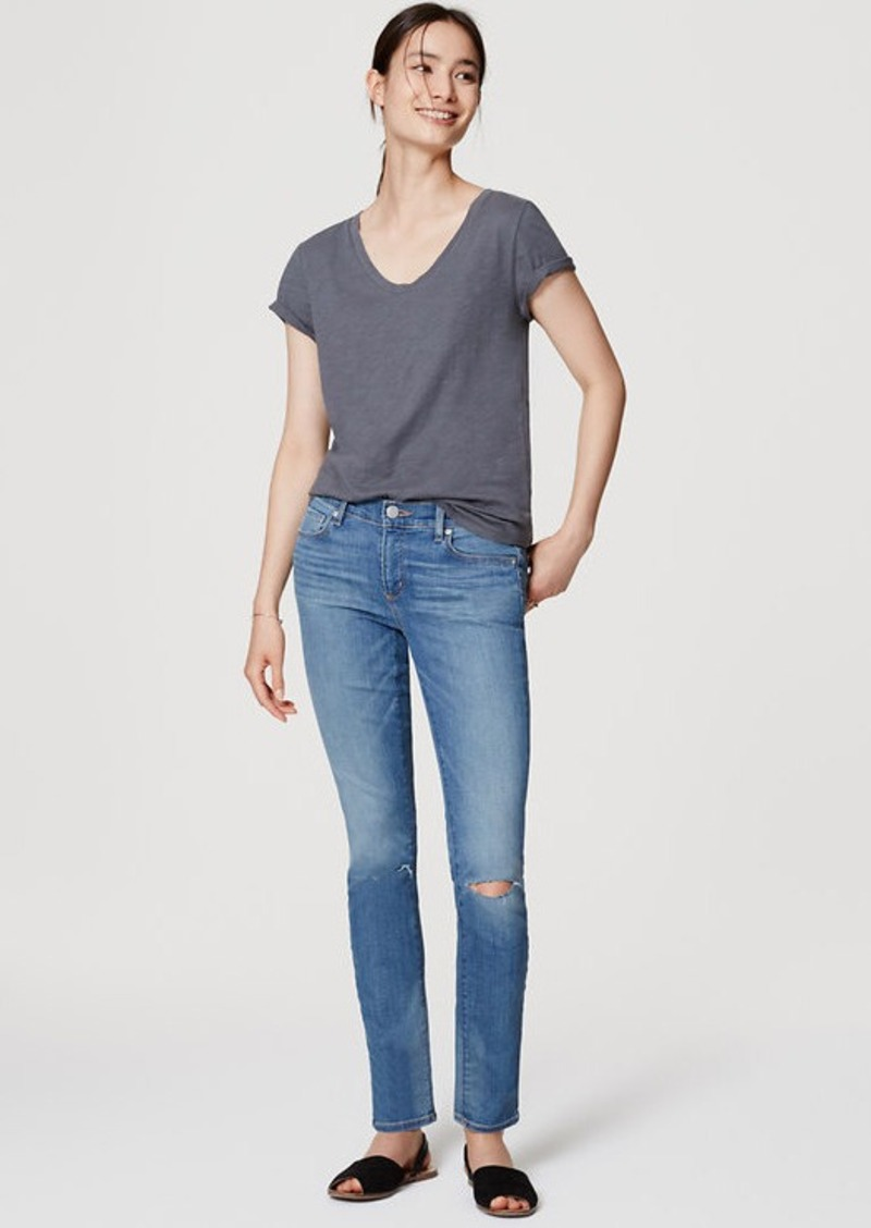 LOFT Modern Skinny Jeans in Medium Light Authentic Wash
