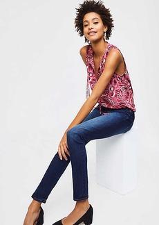 LOFT Modern Skinny Jeans in Rich Dark Indigo Wash