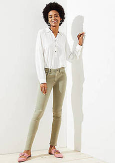 LOFT Modern Skinny Jeans in Sagebrush