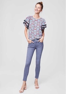 LOFT Modern Skinny Jeans in Vivid Grey Wash