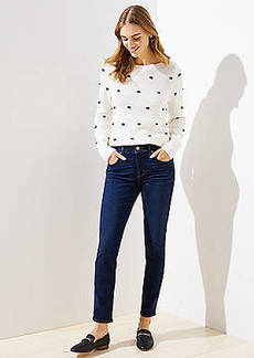 LOFT Modern Soft Skinny Jeans in Luxe Dark Wash