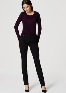 Modern Straight Leg Jeans in Black