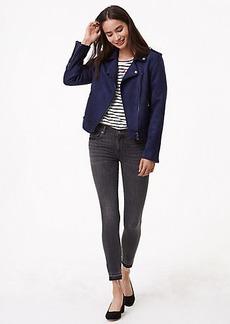 Modern Unpicked Skinny Jeans in Grey Stonewash