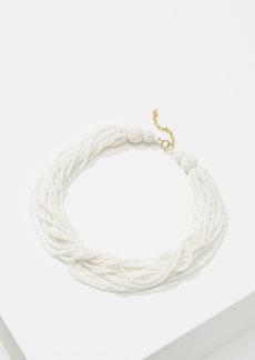 LOFT Multistrand Beaded Necklace