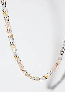 LOFT Multistrand Beaded Necklace
