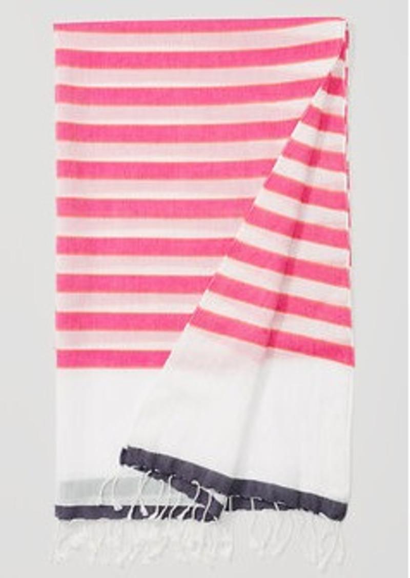 LOFT Neon Stripe Scarf