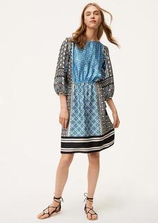 Ocean Mosaic Tassel Dress