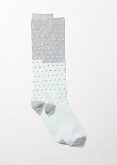 LOFT Ombre Dot Boot Socks