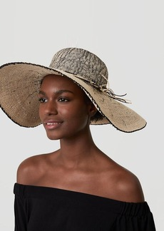 LOFT Ombre Floppy Straw Hat