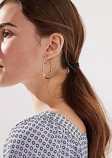 LOFT Open Back Hoop Earrings