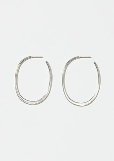 LOFT Open Back Hoop Earrings