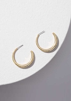 LOFT Open Hoop Earrings