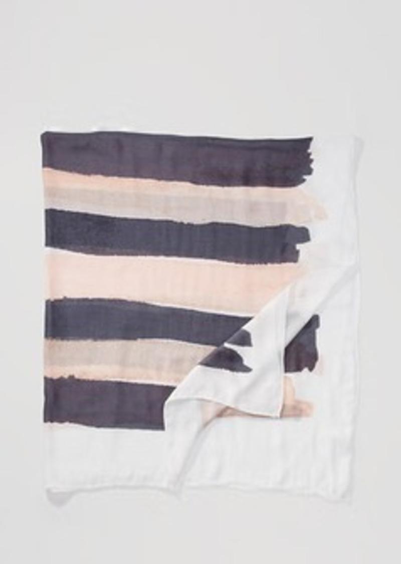 LOFT Painterly Stripe Scarf