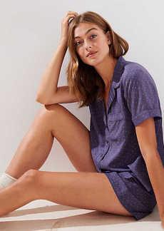 LOFT Dotted Pajama Set