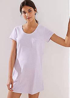 LOFT Pajama Tee Dress