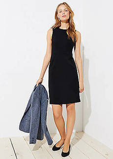 LOFT Paneled Sheath Dress
