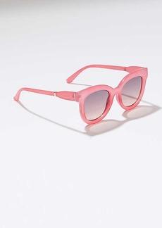 LOFT Pastel Cateye Sunglasses