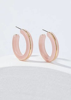 LOFT Pastel Hoop Earrings