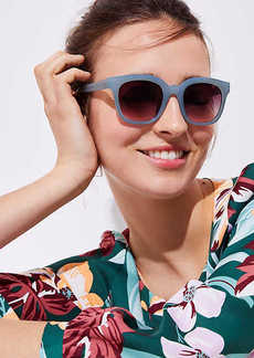 LOFT Pastel Square Sunglasses