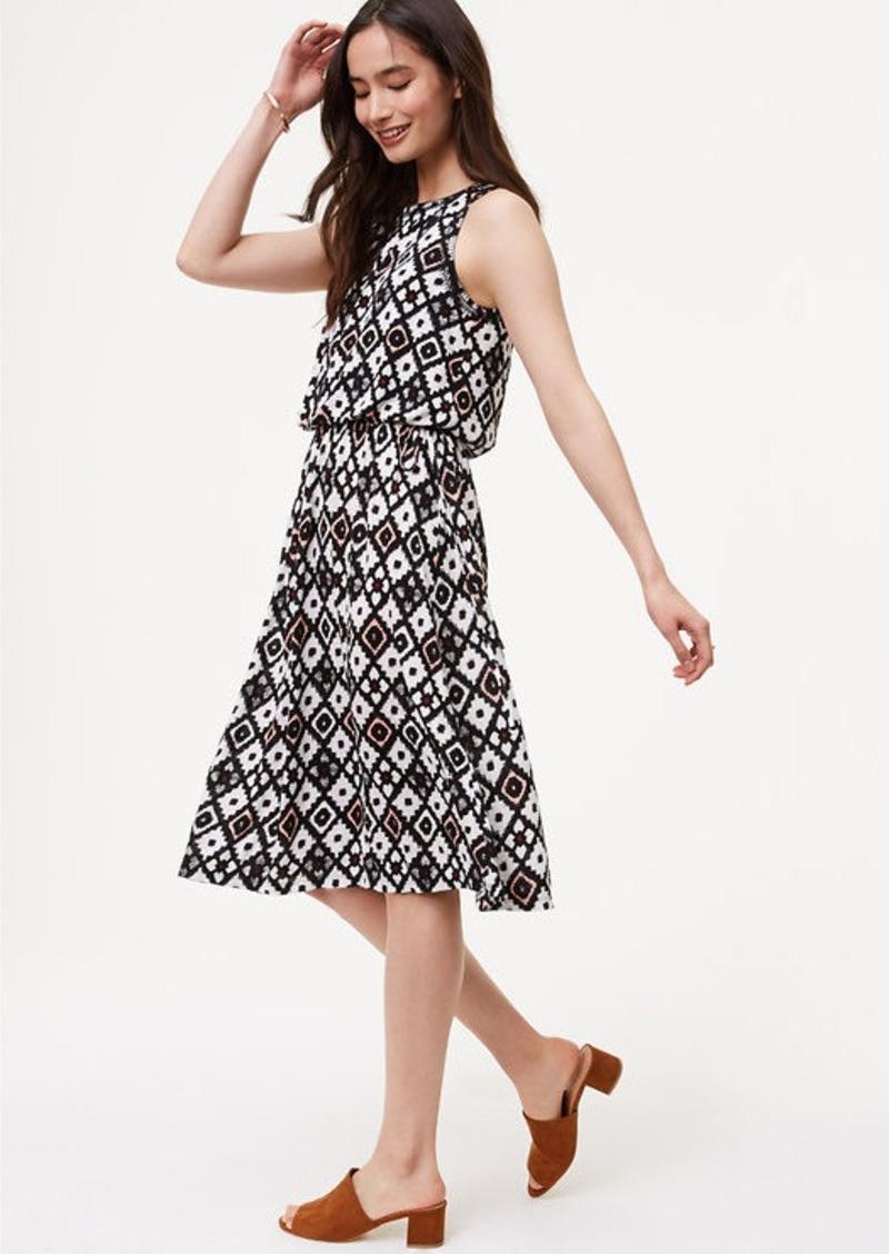 loft dresses. LOFT Patchwork Blouson Dress Loft Dresses