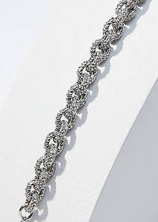 LOFT Pave Chain Link Necklace
