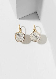 LOFT Pave Stone Drop Earrings