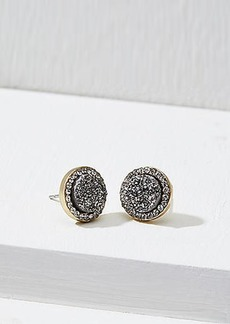 LOFT Pave Stone Stud Earrings