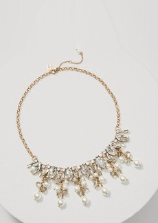 LOFT Pearlized Dangle Necklace