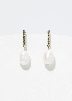 LOFT Pearlized Drop Earrings